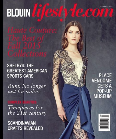 Blouin Lifestyle Cover - 9/1/2015