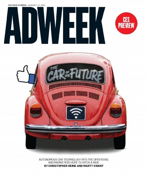 Adweek Cover - 1/4/2016