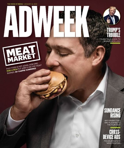 Adweek Cover - 1/18/2016