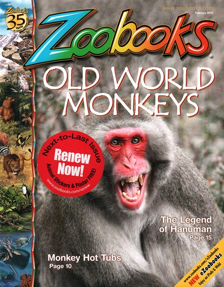 Zoobooks Cover - 2/1/2016