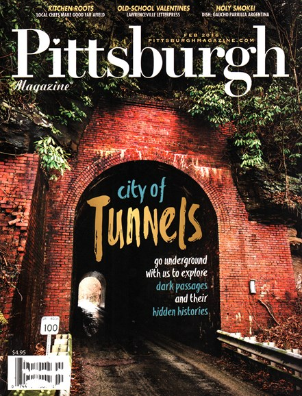 Pittsburgh Magazine Cover - 2/1/2016