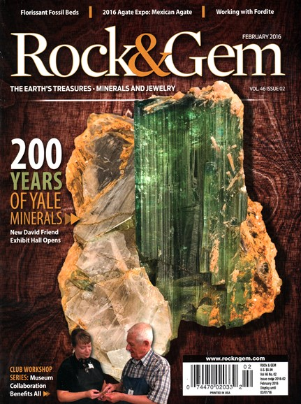 Rock & Gem Cover - 2/1/2016