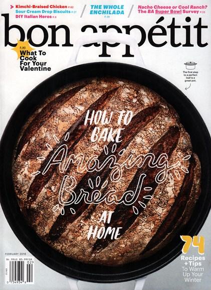 Bon Appétit Cover - 2/1/2016