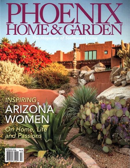 Phoenix Home & Garden Cover - 2/1/2016