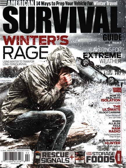 American Survival Guide Cover - 2/1/2016