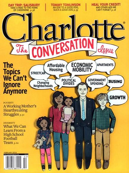Charlotte Magazine Cover - 2/1/2016