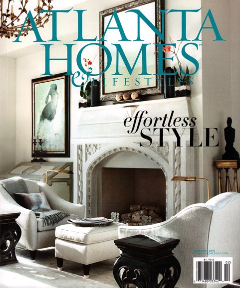 Atlanta Homes & Lifestyles Cover - 2/1/2016