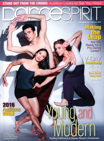 Dance Spirit Cover - 2/1/2016