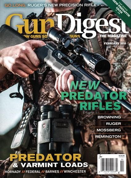 Gun Digest Cover - 2/1/2016