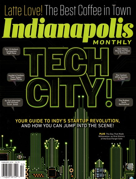 Indianapolis Monthly Cover - 2/1/2016