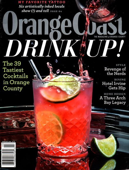 Orange Coast Cover - 2/1/2016
