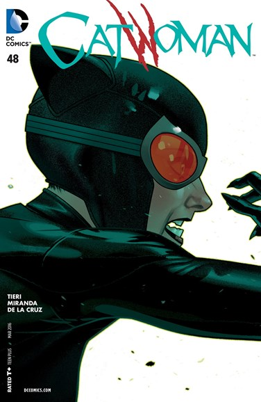 Catwoman Cover - 3/1/2016