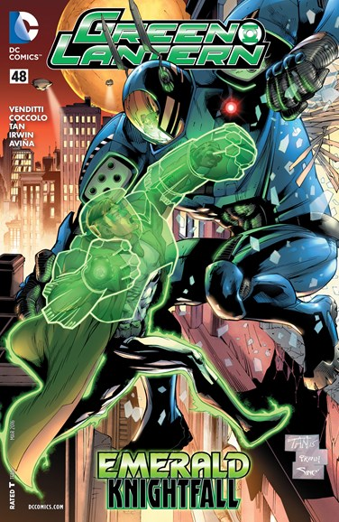 Green Lanterns Cover - 3/1/2016