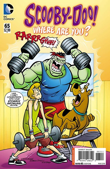 Scooby Doo, Where Are You? Cover - 3/1/2016