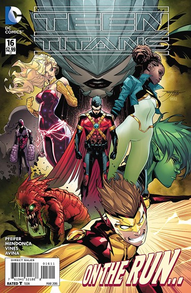 Teen Titans Cover - 3/1/2016