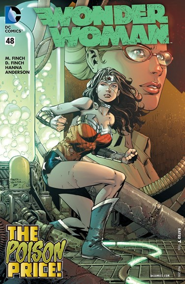Wonder Woman Cover - 3/1/2016