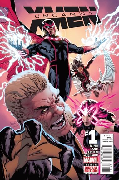 Astonishing X-Men Cover - 2/1/2016