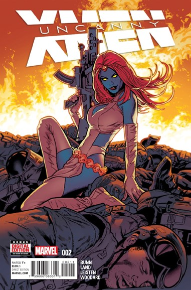 Astonishing X-Men Cover - 3/1/2016