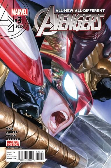 Avengers Cover - 3/1/2016