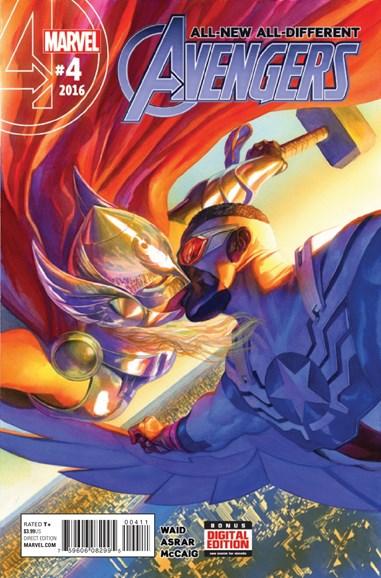Avengers Cover - 3/15/2016