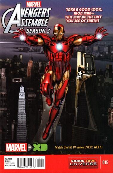 Marvel Universe Avengers Assemble Cover - 3/1/2016