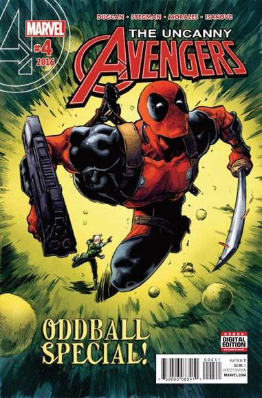 Uncanny Avengers Cover - 3/1/2016