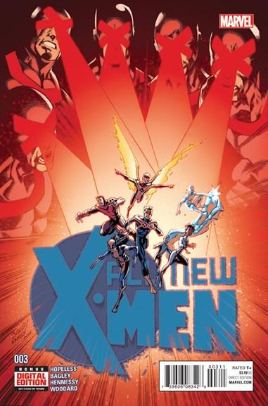 X-Men Blue Cover - 3/1/2016