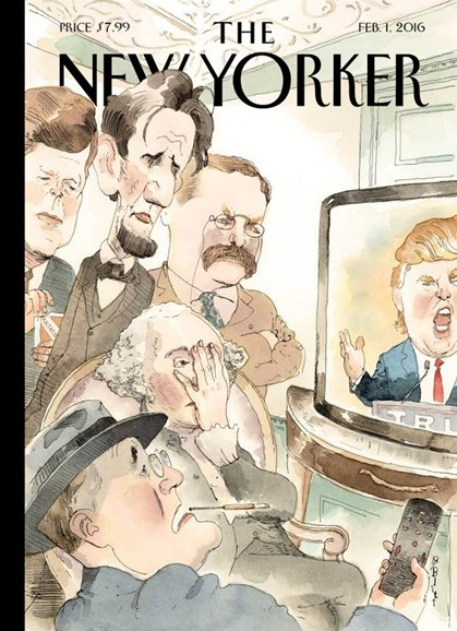 The New Yorker Cover - 2/1/2016