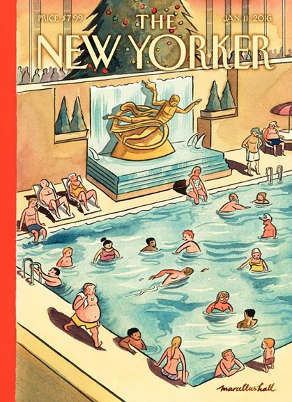 The New Yorker Cover - 1/11/2016