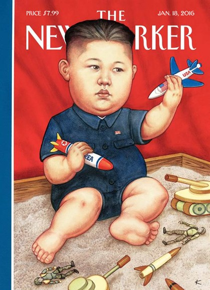 The New Yorker Cover - 1/18/2016