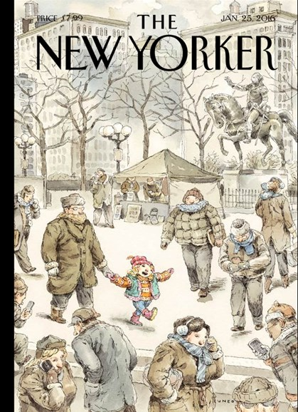 The New Yorker Cover - 1/25/2016