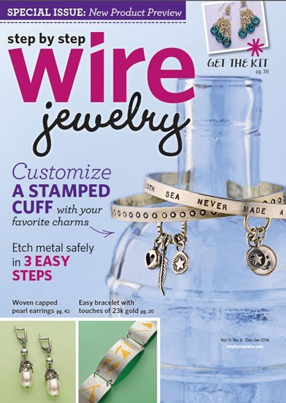 Step By Step Wire Jewelry Cover - 12/1/2015