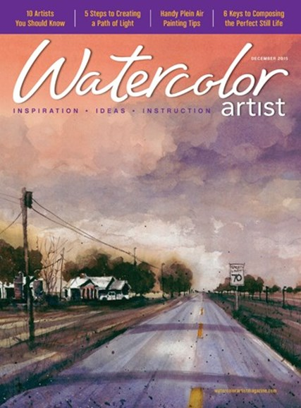 Watercolor Artist Cover - 12/1/2015