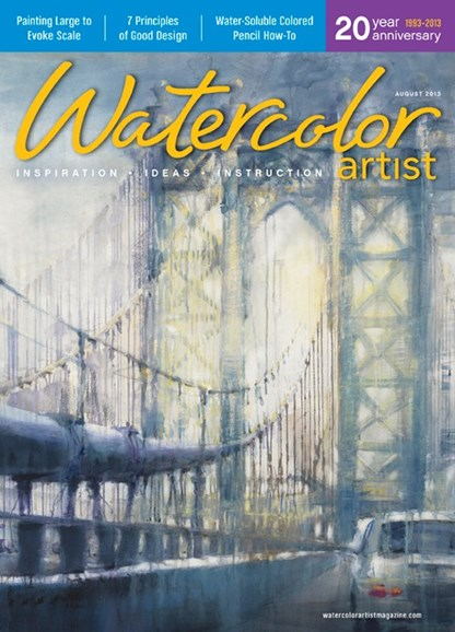 Watercolor Artist Cover - 8/1/2013