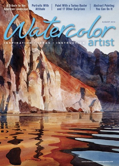 Watercolor Artist Cover - 8/1/2012