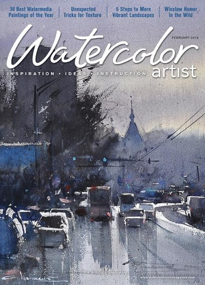 Watercolor Artist Cover - 2/1/2012