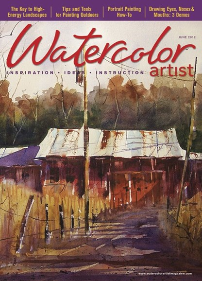 Watercolor Artist Cover - 6/1/2012