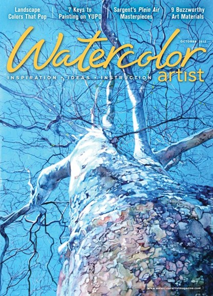 Watercolor Artist Cover - 10/1/2012