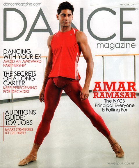 Dance Magazine Cover - 2/1/2016