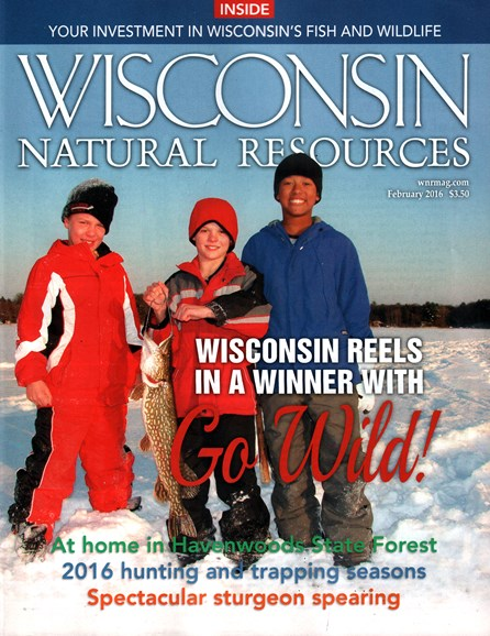 Wisconsin Natural Resources Cover - 2/1/2016