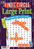 Find and Circle Large Print Magazine 4/1/2016