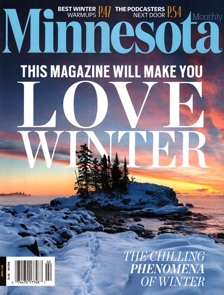 Minnesota Monthly Cover - 2/1/2016