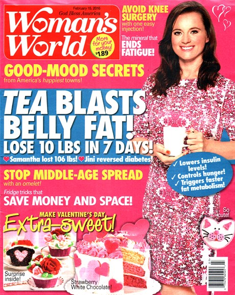 Woman's World Cover - 2/15/2016