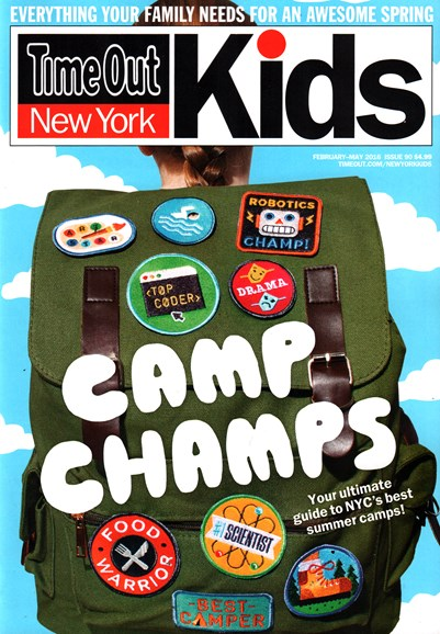 Time Out New York Kids Cover - 2/1/2016