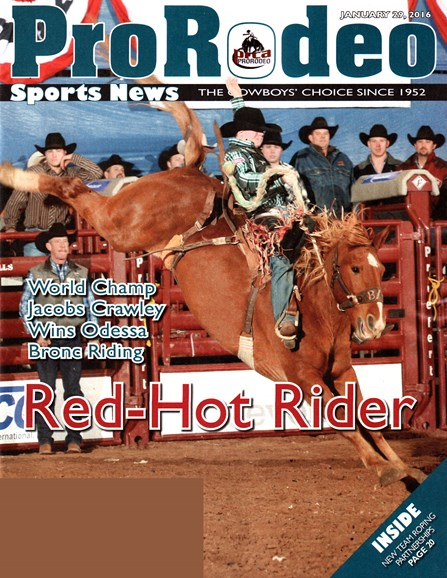 Pro Rodeo Sports News Cover - 1/29/2016
