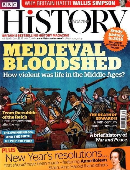 BBC History Cover - 1/1/2016