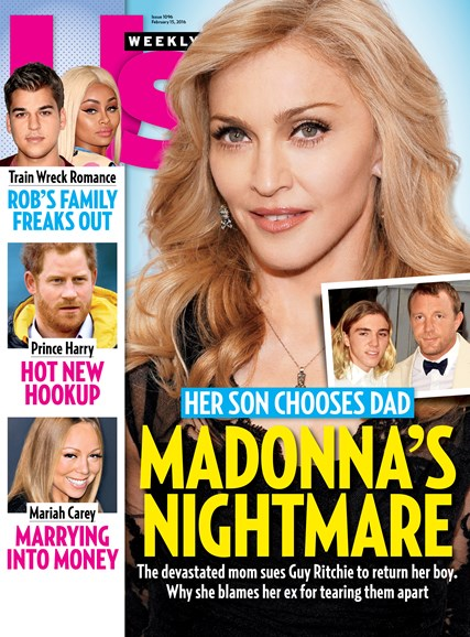 Us Weekly Cover - 2/15/2016