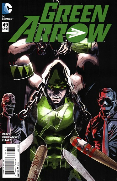 Green Arrow Cover - 4/1/2016