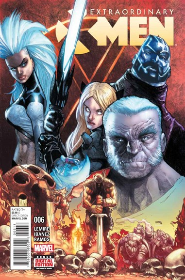 X-Men Gold Cover - 4/1/2016