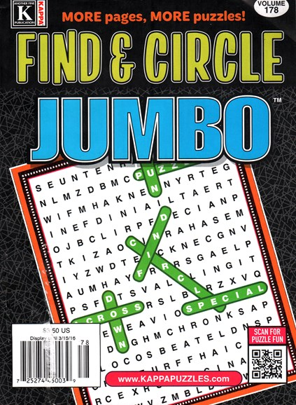 Find & Circle Jumbo Cover - 4/1/2016